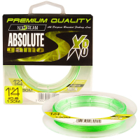 Плетенка NORSTREAM Absolute Game 8x #1,2 цв. fluo light green