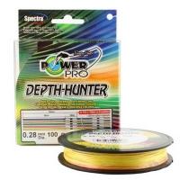 Плетенка POWER PRO Depth-Hunter 100 м цв. разноцветный 0,32 мм 24 кг