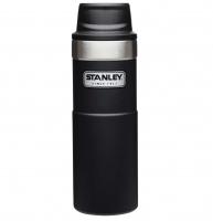 Термокружка STANLEY Classic One hand 2.0 0,47 л (тепло 7ч / холод 10ч) цв. черный