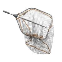 Подсачек SAVAGE GEAR Pro Tele Folding Rubber Large Mesh Landing Net р. L (65 x 50 см)