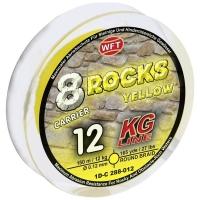 Плетенка WFT 8 Rocks 150 м цв. yellow 0,12 мм