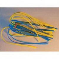 Силиконовая юбка МОРОЗОВ двухцветная цв. желто-синий