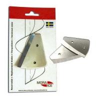Набор сменных ножей MORA ICE для ручного ледобура Micro, Arctic, Expert Pro и шнека д/мотоледобура 130 мм