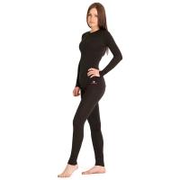 Комплект термобелья DR.WOOL Wool Lite Woman цвет Black