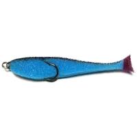 Поролоновая рыбка КОНТАКТ двойник 8 см (10 шт.) цв. синий