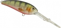 Воблер SPRO Gomen Shad 60S цв. Green Ghost Perch