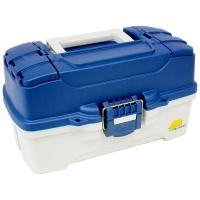Ящик PLANO 6202 с 2х уровневой системой хранения приманок и двумя боковыми отсеками на крышке