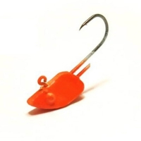 Джиг-Головка ТУЛА форелевая для нимфы цвет: оранж (3 шт.) 1,6 гр