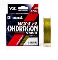 Плетенка YGK G-soul Ohdragon WX4-F1 150 м цв. Многоцветный # 1