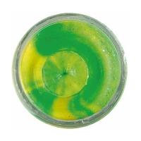Паста форелевая BERKLEY PowerBait Extra Scent Glitter TroutBait цв. флюоресцентный зеленый/ оранжевый
