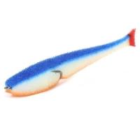 Поролоновая рыбка LEX Classic Fish King Size CD 14 WBLOR (белое тело / синяя спина / оранжевое брюхо)