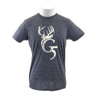 Футболка G5 Antler Logo T-Shirt цвет Charcoal