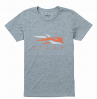Футболка SITKA Youth Logo Tee SS цвет Heather Grey