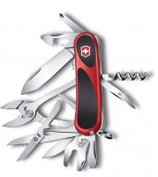 Нож VICTORINOX EvoGrip S557 красный/черный 21 функция 85 мм карт.коробка