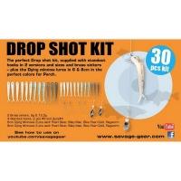 Набор оснастки SAVAGE GEAR Dying Minnow Drop Shot Pro Pack Kit (30 шт.) NL