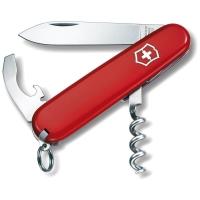 Нож VICTORINOX Waiter р. 84 мм, 9 функций, цв. красный, карт. коробка