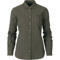 Рубашка SEELAND Claire Lady Shirt цвет Olive night check