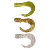 Приманка SAVAGE GEAR 3D LB Hard Eel Long Tails 17 (3 шт.) цв. Gold/ Silver/ Chart