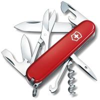 Нож VICTORINOX Climber р. 91 мм, 14 функций, цв. красный, карт. коробка