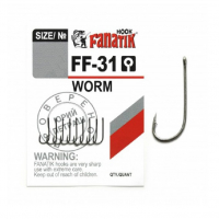 Крючок одинарный FANATIK FF-31 Worm № 10 (8 шт.)