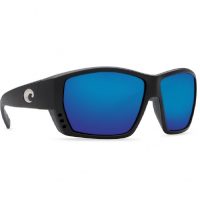 Очки COSTA DEL MAR Tuna Alley 580 GLS W р. L цв. Matte Black Global Fit цв. ст. Blue Mirror