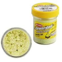 Паста BERKLEY PowerBait Natural Scent Glitter TroutBait аттр. Чеснок цв. Блестящий