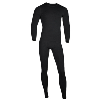 Комплект термобелья MONTERO Wool Lite цвет Black