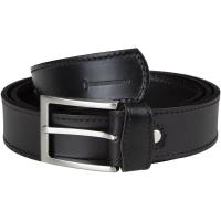 Ремень MAREMMANO 13101 Leather Belt For Trouser 3,5 см цв. Черный