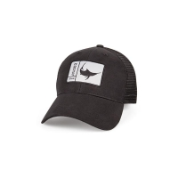 Бейсболка COSTA DEL MAR Original Patch Marlin цв. Black / Black