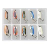 Набор блесен SAVAGE GEAR Nails Micro Spoon Kit1 #1c & #2c (10 шт.)