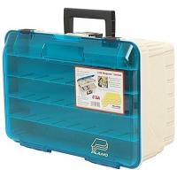 Ящик PLANO 1350 двухуровневый с прозрачной крышкой для приманок и инструмента