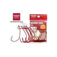 Крючок офсетный VANFOOK Worm 55R № 2/0 (7 шт.)