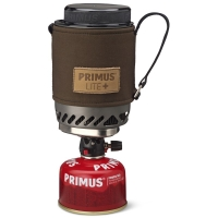 Комплект PRIMUS Lite Plus Dark Olive Piezo горелка с кастрюлей 0,5 л