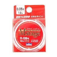 Поводковый материал DAIWA METASENSOR M-STAGE 0,052 мм