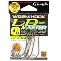 Крючок офсетный GAMAKATSU Worm Hook LD Master NSC № 1 (7 шт.)