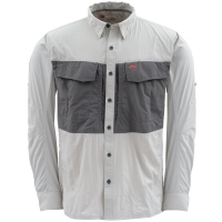 Рубашка SIMMS Guide Shirt цвет grey
