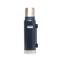 Термос STANLEY Classic Vacuum Bottle Hertiage (тепло 28 ч/ холод 28 ч) 1,3 л цв. Синий