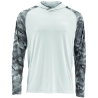 Футболка SIMMS Solarflex Hoody цвет Hex Camo Sterling