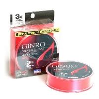 Леска DAIWA GINRO SILVER BEAST 1.5-180/0,205 мм 180 м цв. розовый