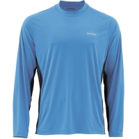Футболка SIMMS Solarflex Crewneck цвет Blue Harbour