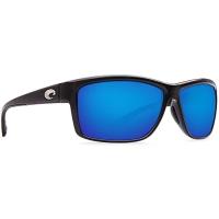 Очки COSTA DEL MAR Mag Bay 580 P р. XL цв. Shiny Black цв. ст. Blue Mirror