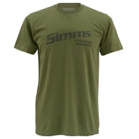 Футболка SIMMS Working Waders цвет Olive