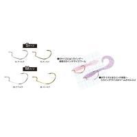 Крючок офсетный TICT DF Hook р. M цв. Gold (5 шт.)