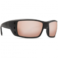 Очки COSTA DEL MAR Permit 580 GLS р. XL цв. Blackout цв. ст. Copper Silver Mirror