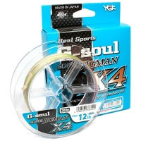 Плетенка YGK Real Sports G-Soul Super Jigman X4 200 м # 0,8