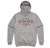 Толстовка SIMMS The Original Hoody цвет Grey Heather