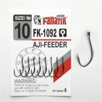 Крючок одинарный FANATIK FK-1092 AJI-Feeder № 10 (8 шт.)