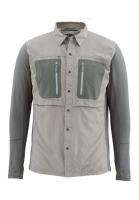Рубашка SIMMS GT Tricomp Shirt цвет Platinum